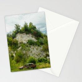 An old quarry in Kazimierz Dolny Stationery Cards
