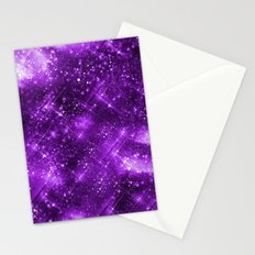 Dazzling Series (Purple) Stationery Cards