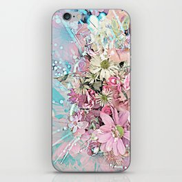 Party Flowers iPhone Skin