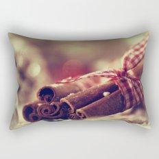 Cinnamon and almond scent for Christmas Rectangular Pillow