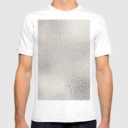 Simply Metallic in Silver T-shirt