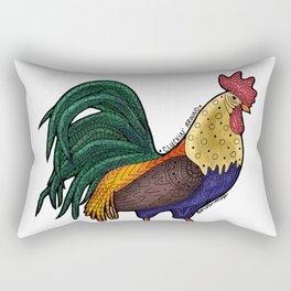 Cluckin' Around Rectangular Pillow