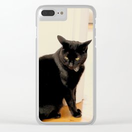 Any Witch Way Clear iPhone Case