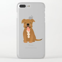Bam Bam Clear iPhone Case