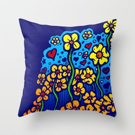 FLOWERS FOR SHERRY 002 Throw Pillow