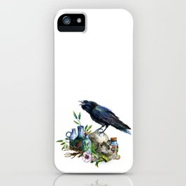 Raven Magick iPhone Case