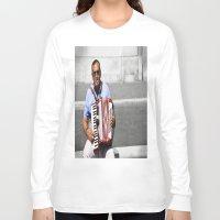 italian Long Sleeve T-shirts featuring Italian by linalaughs
