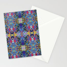 Garden Party - Blue Stationery Cards