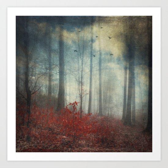 open woodland dreams Art Print