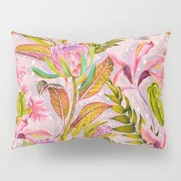 Botanical love pattern Pillow Sham