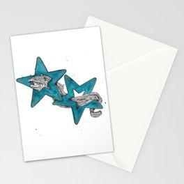 Moray eel Stationery Cards