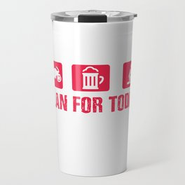 Motorcycle beer Tits Simple Man Gift Travel Mug