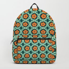 Flowers and bubbles Backpack