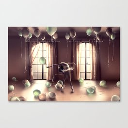 LIBRA from the dancing zodiac Canvas Print