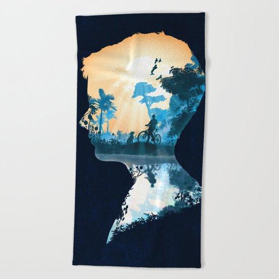 Best Friends Boy version Beach Towel