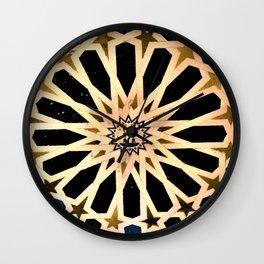 Azulejo de La Alhambra Wall Clock