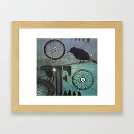 Commute Framed Art Print