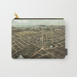 Bird's Eye View of Hillsdale, Michigan (1866) Carry-All Pouch
