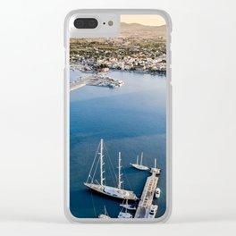 Sail Away - Zakynthos Clear iPhone Case