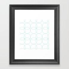 circles Framed Art Print