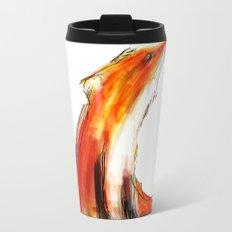 Wise Fox Reverse Metal Travel Mug