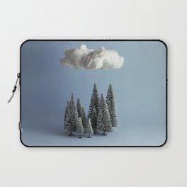 A cloud over the forest Laptop Sleeve