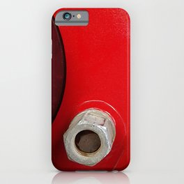 Red car disk wheel  iPhone Case