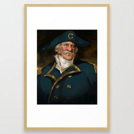 Oh Captain, My Captain (Captain Crunch) Framed Art Print