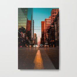 Ready, Set, GO! Metal Print