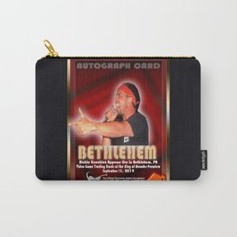 Richie Knucklez appearance card - King of Arcades World Premiere, Bethlehem PA Carry-All Pouch