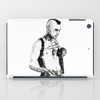 taxi driver iPad Cases featuring Taxi Driver by Art & Ink