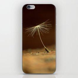Dandelion seed  iPhone Skin