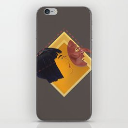 Make your own kabuto path iPhone Skin