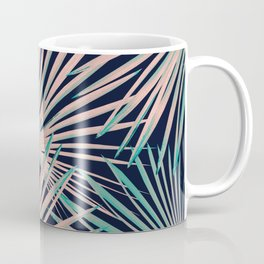Tropical Fan Palm Leaves #5 #tropical #decor #art #society6 Coffee Mug