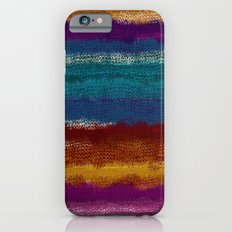 Knit stripes iPhone 6s Slim Case