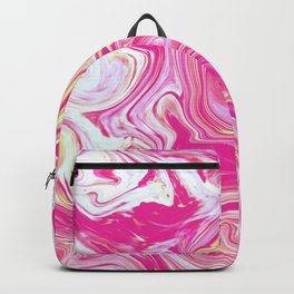 WHIRLING PINK AND GOLD Backpack