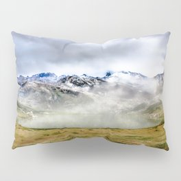 Lago Ercina in National park Picos de Europa Pillow Sham