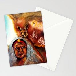 January Grounding Goddess Stationery Cards
