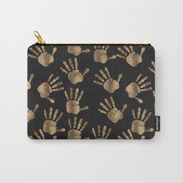 Abstract Golden hands Open Hands Open heart Carry-All Pouch