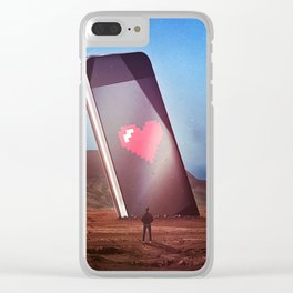 Dopamine Clear iPhone Case