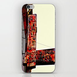 Ruhl's Photography Sign iPhone Skin