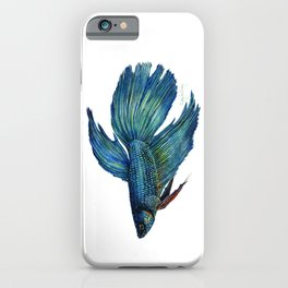 Mortimer the Betta Fish iPhone Case