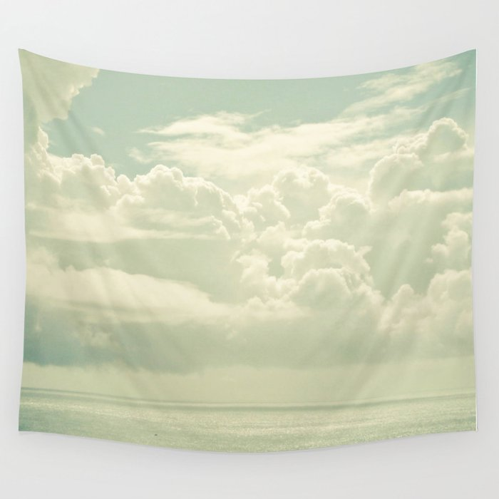 As the Clouds Gathered Wall Tapestry