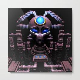 Electric Head: Symbiosis Metal Print