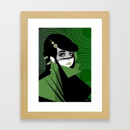 Shaped 19. Framed Art Print