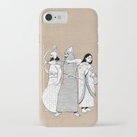 archer iPhone & iPod Cases featuring Archer by Tom Tierney Studios