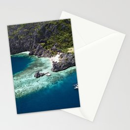 Island hopping around the Philippine Islands Stationery Cards