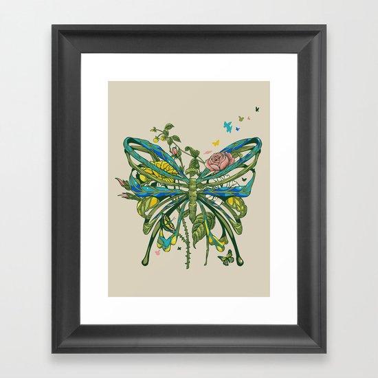 Lifeforms Framed Art Print
