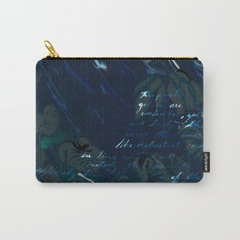 """""""Conquest of the Useless"""" by Werner Herzog Print (v. 6) Carry-All Pouch"""