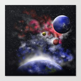 GalaXa background Canvas Print